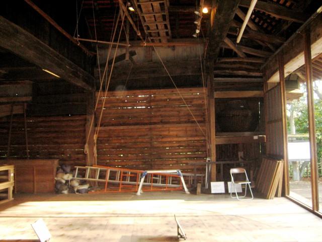 夜の民家園と船越の舞台 014