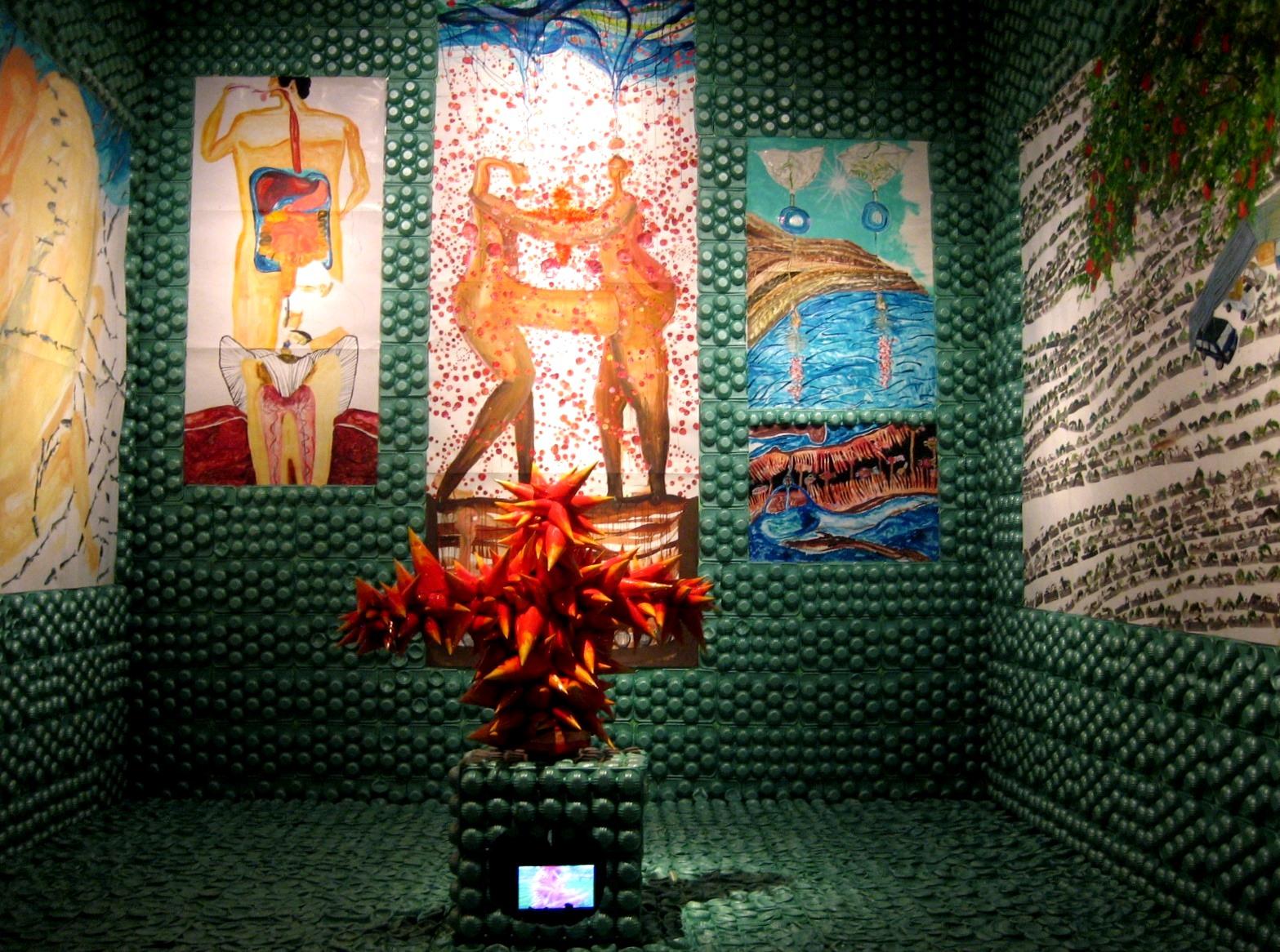 太郎美術館(現代美術展) 022